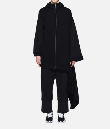 Y-3 Short dress Woman Y-3 Knitted Hoodie Dress r