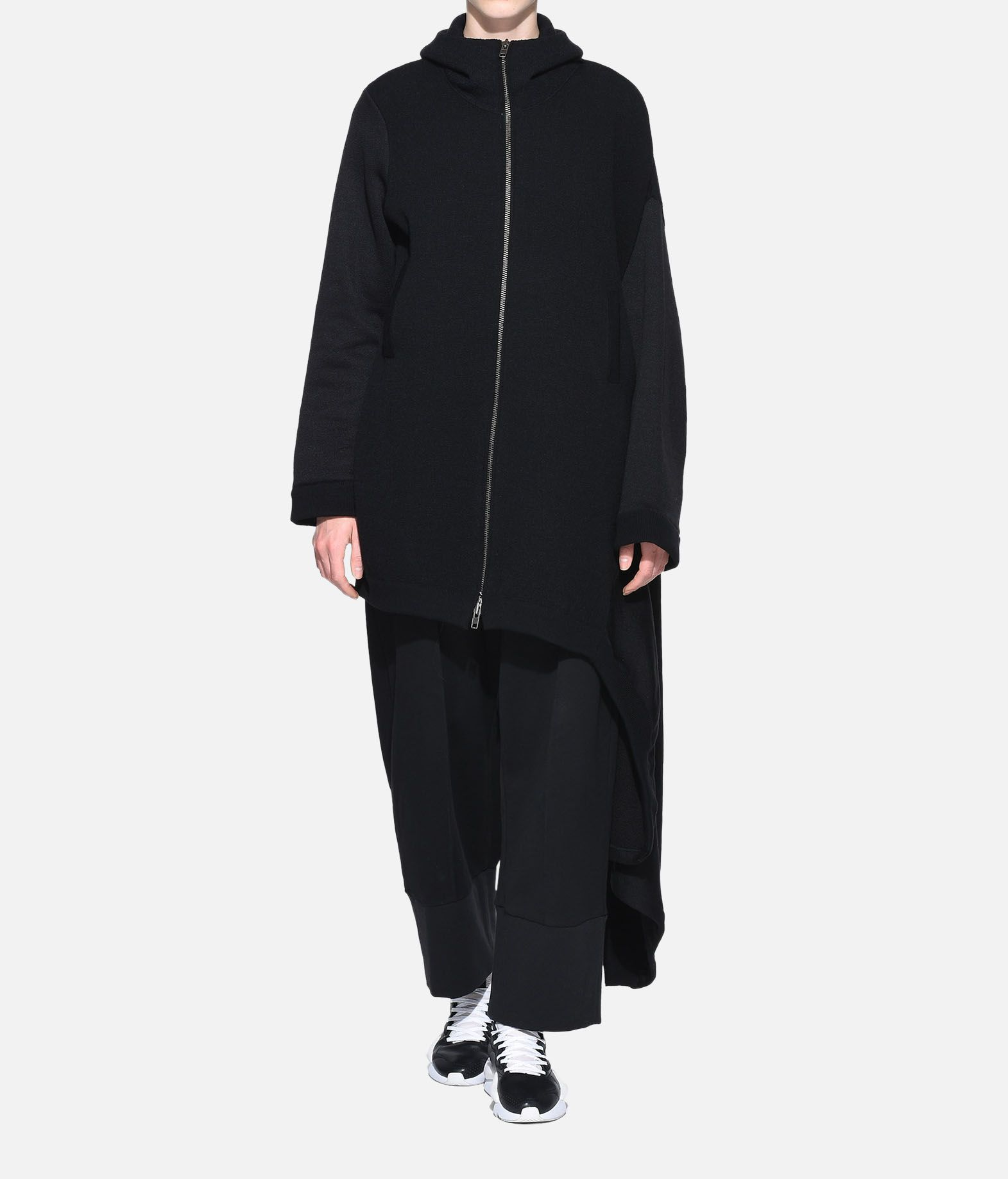 Y-3 Y-3 Knitted Hoodie Dress Robe courte Femme a