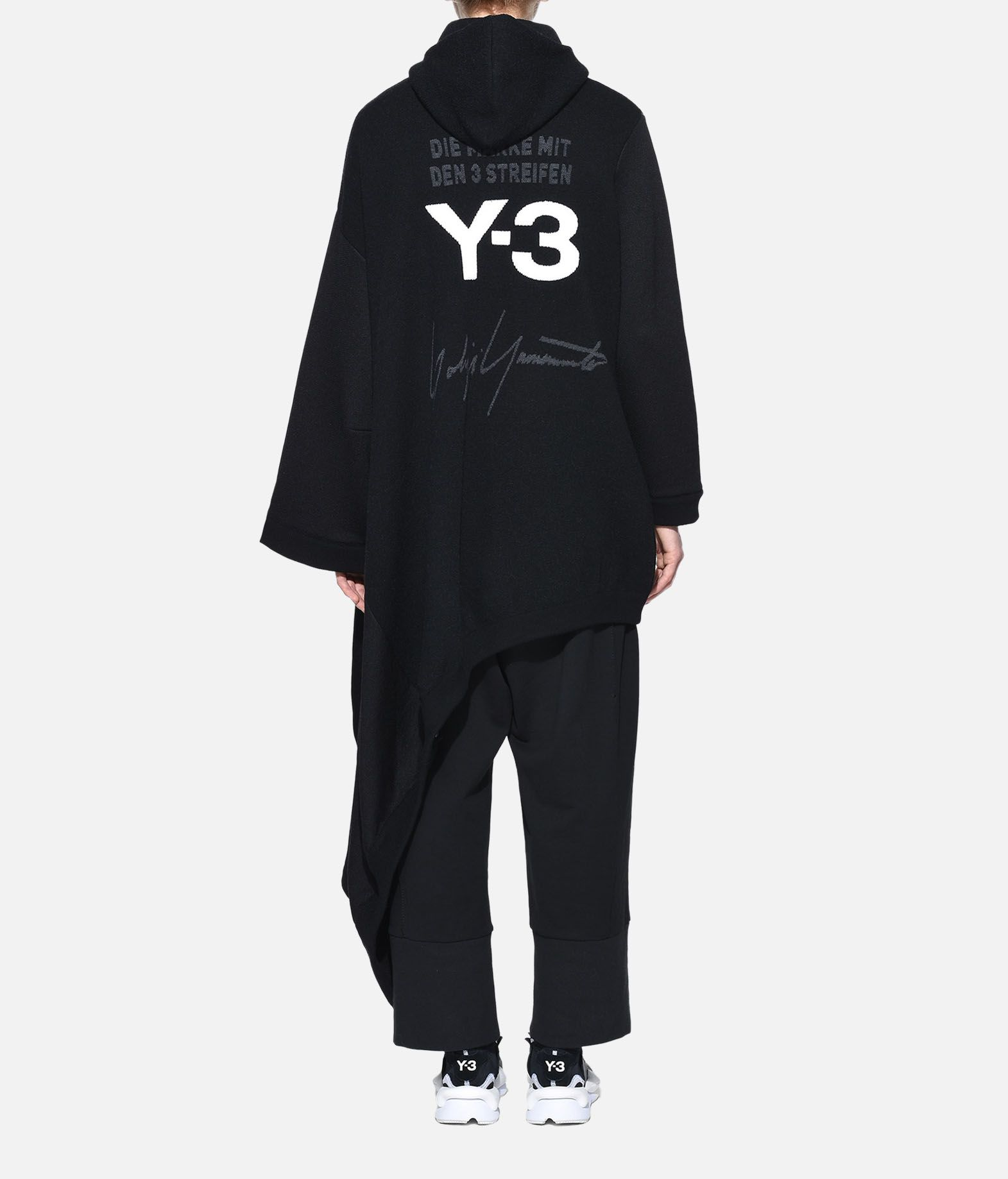 Y-3 Y-3 Knitted Hoodie Dress Robe courte Femme d
