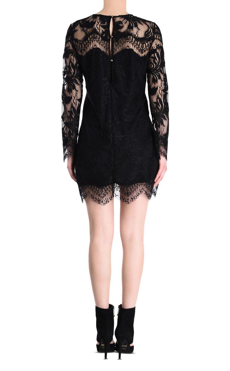 JUST CAVALLI Lace dress Short dress Woman d