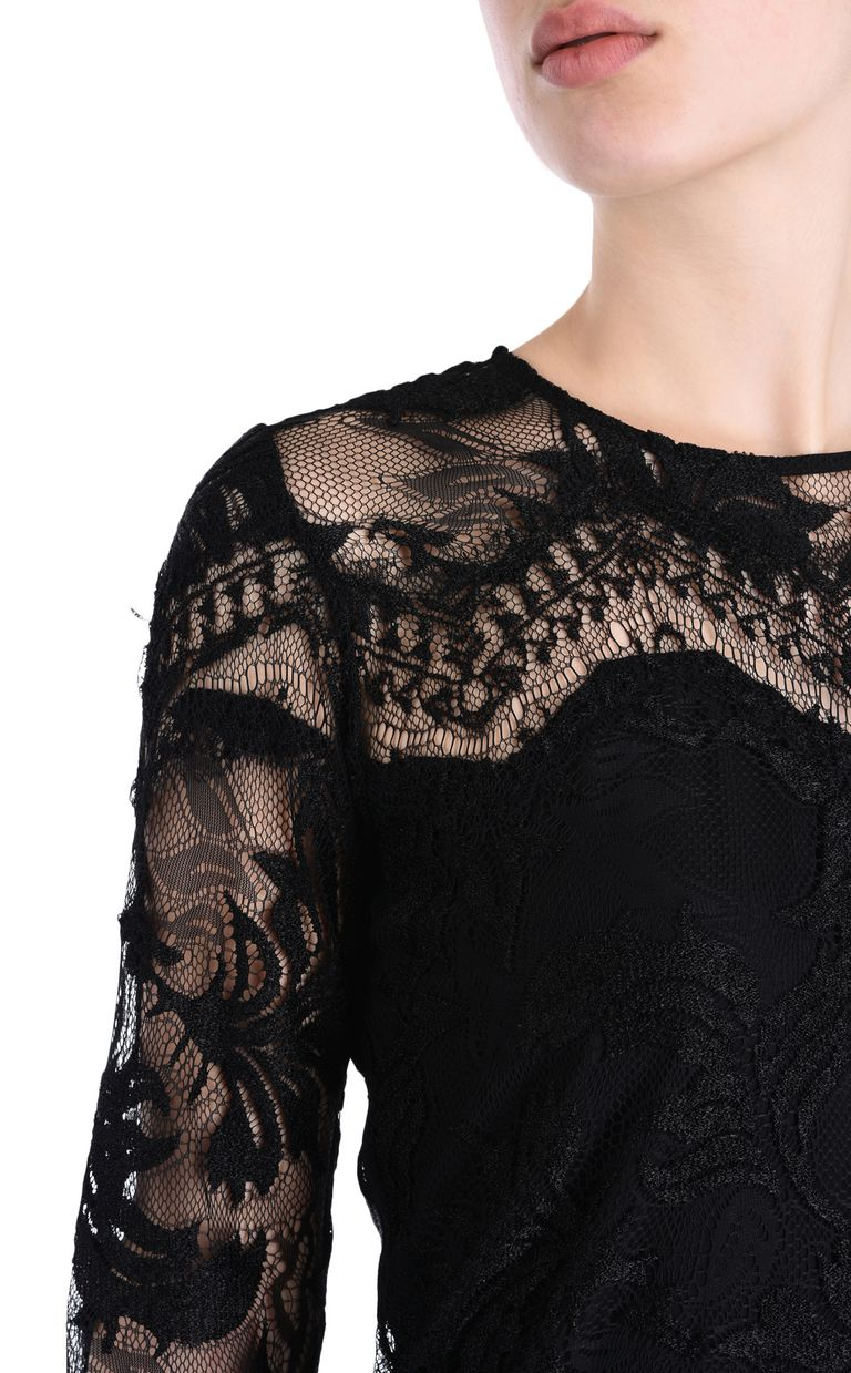 JUST CAVALLI Lace dress Short dress Woman e