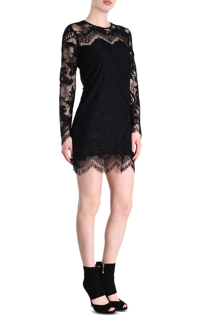 JUST CAVALLI Lace dress Short dress Woman f