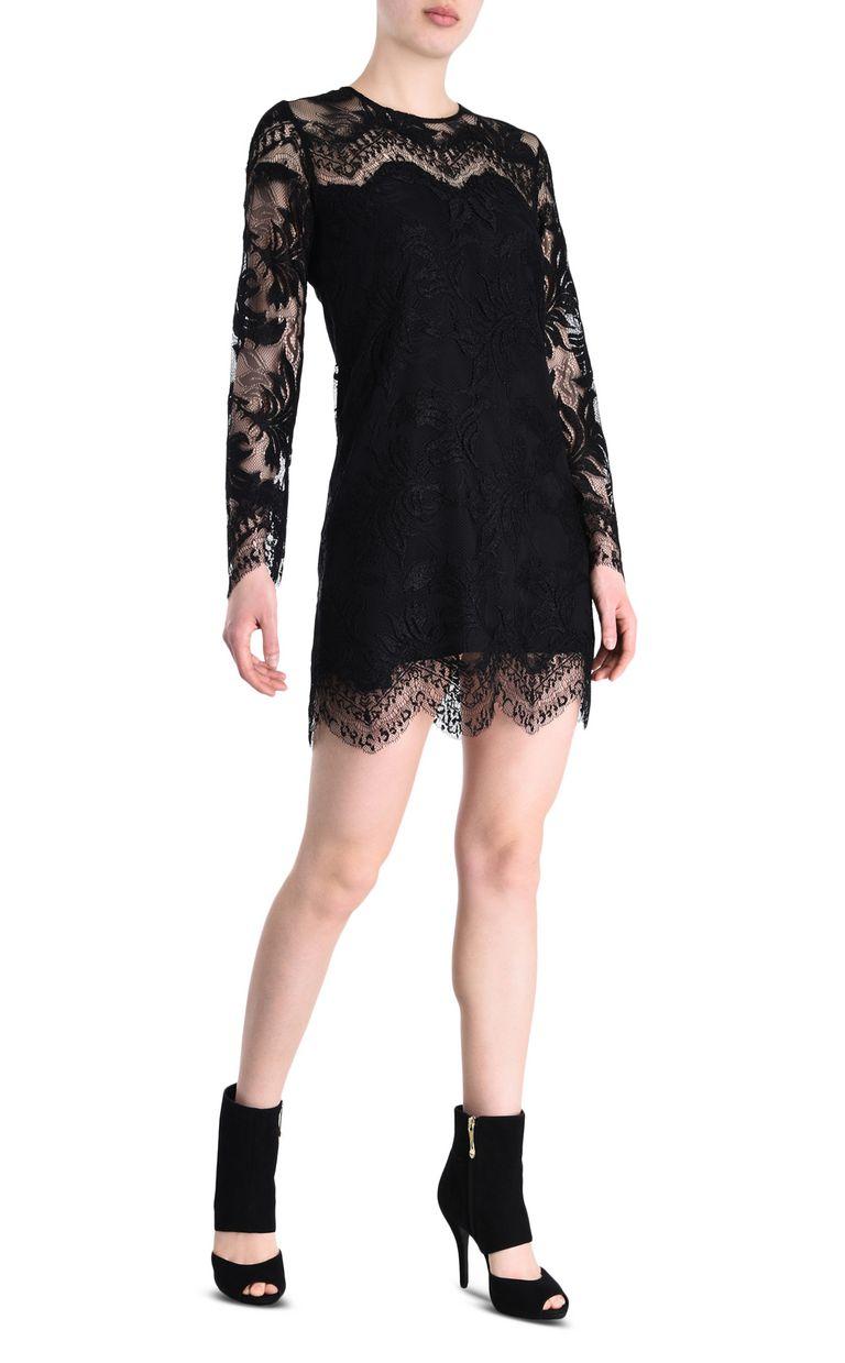 JUST CAVALLI Lace dress Short dress Woman r