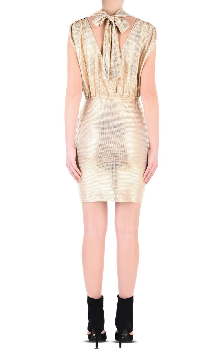 JUST CAVALLI Elegant gold dress Short dress Woman d