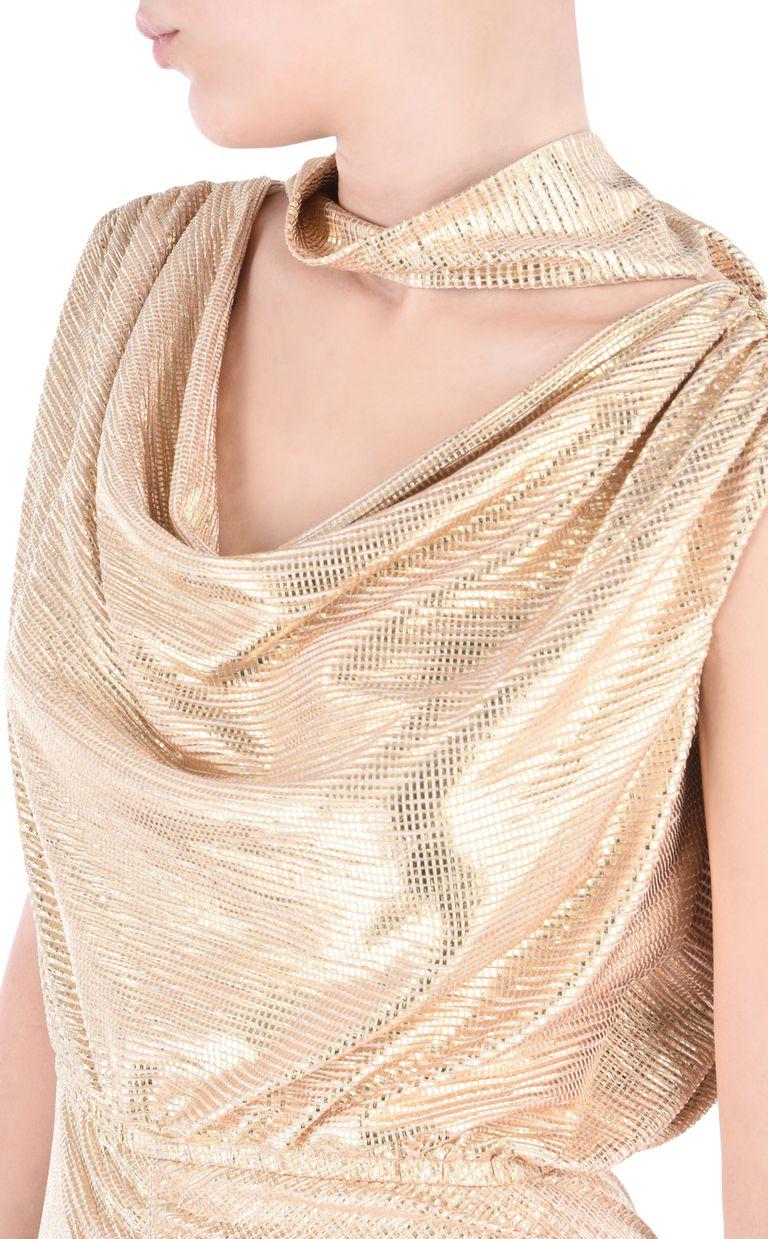 JUST CAVALLI Elegant gold dress Short dress Woman e