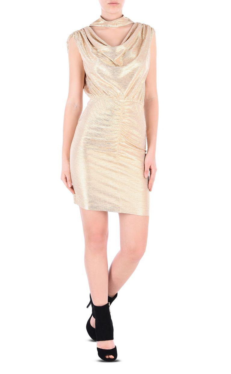 JUST CAVALLI Elegant gold dress Short dress Woman f