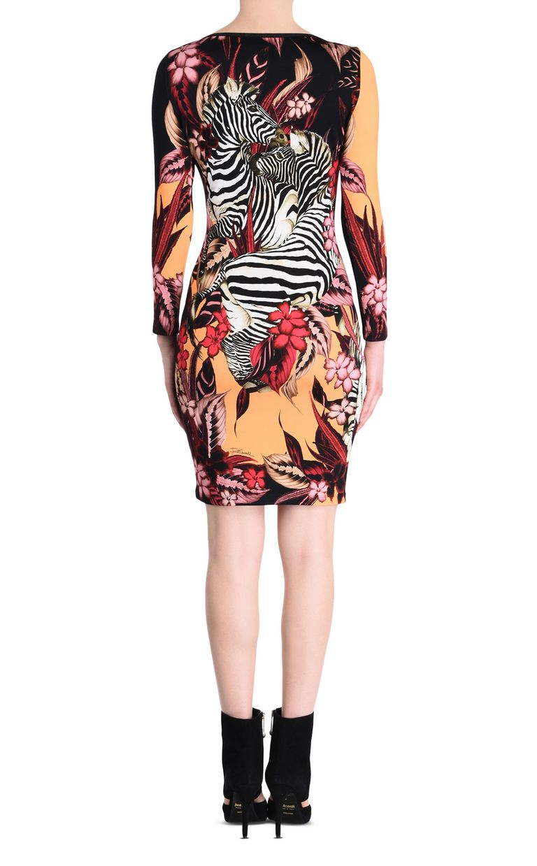 JUST CAVALLI Kenya sheath dress Short dress Woman d