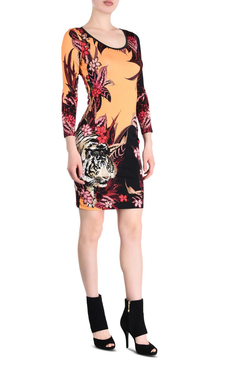 JUST CAVALLI Kenya sheath dress Short dress Woman f