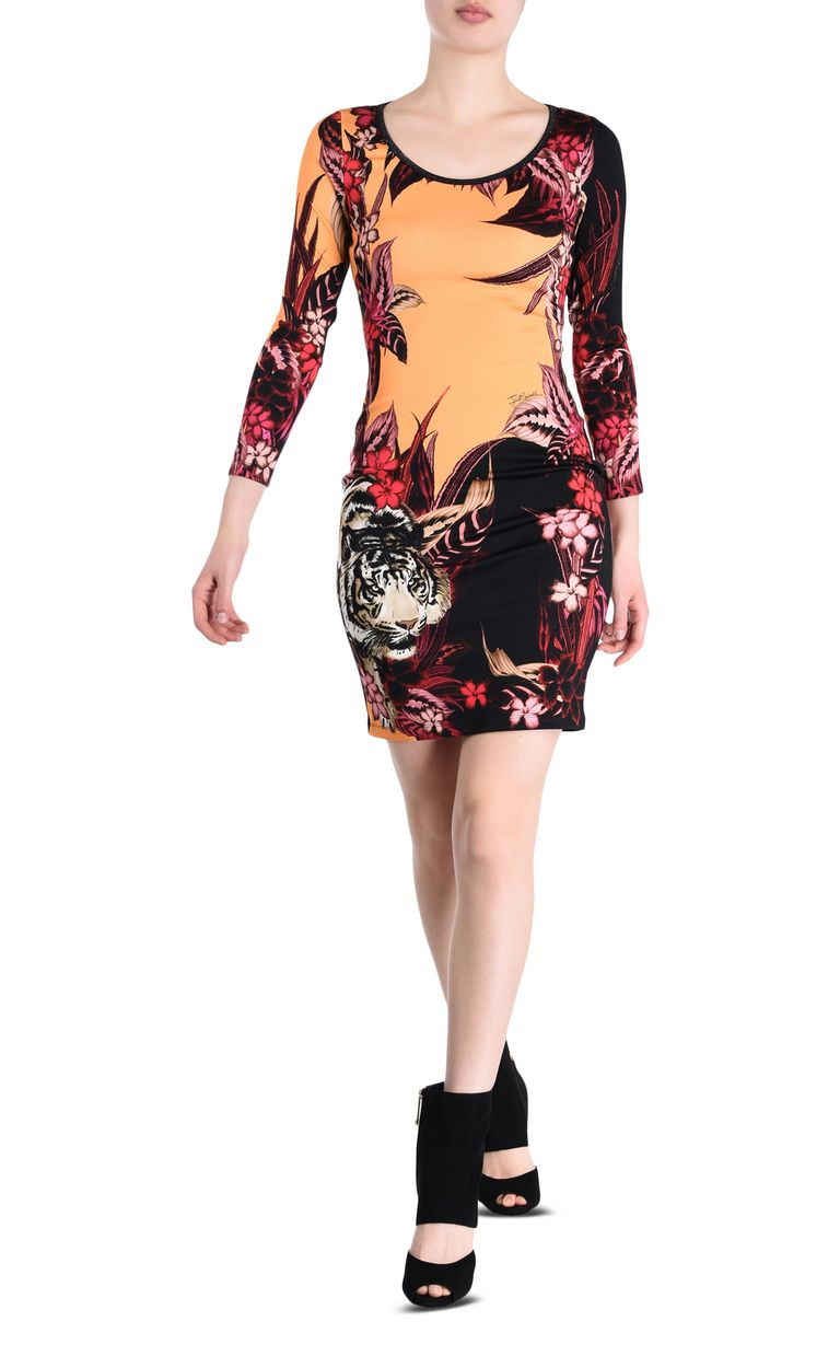 JUST CAVALLI Kenya sheath dress Short dress Woman r