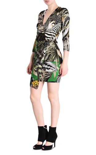 JUST CAVALLI 3/4 length dress Woman Kenya mini dress f