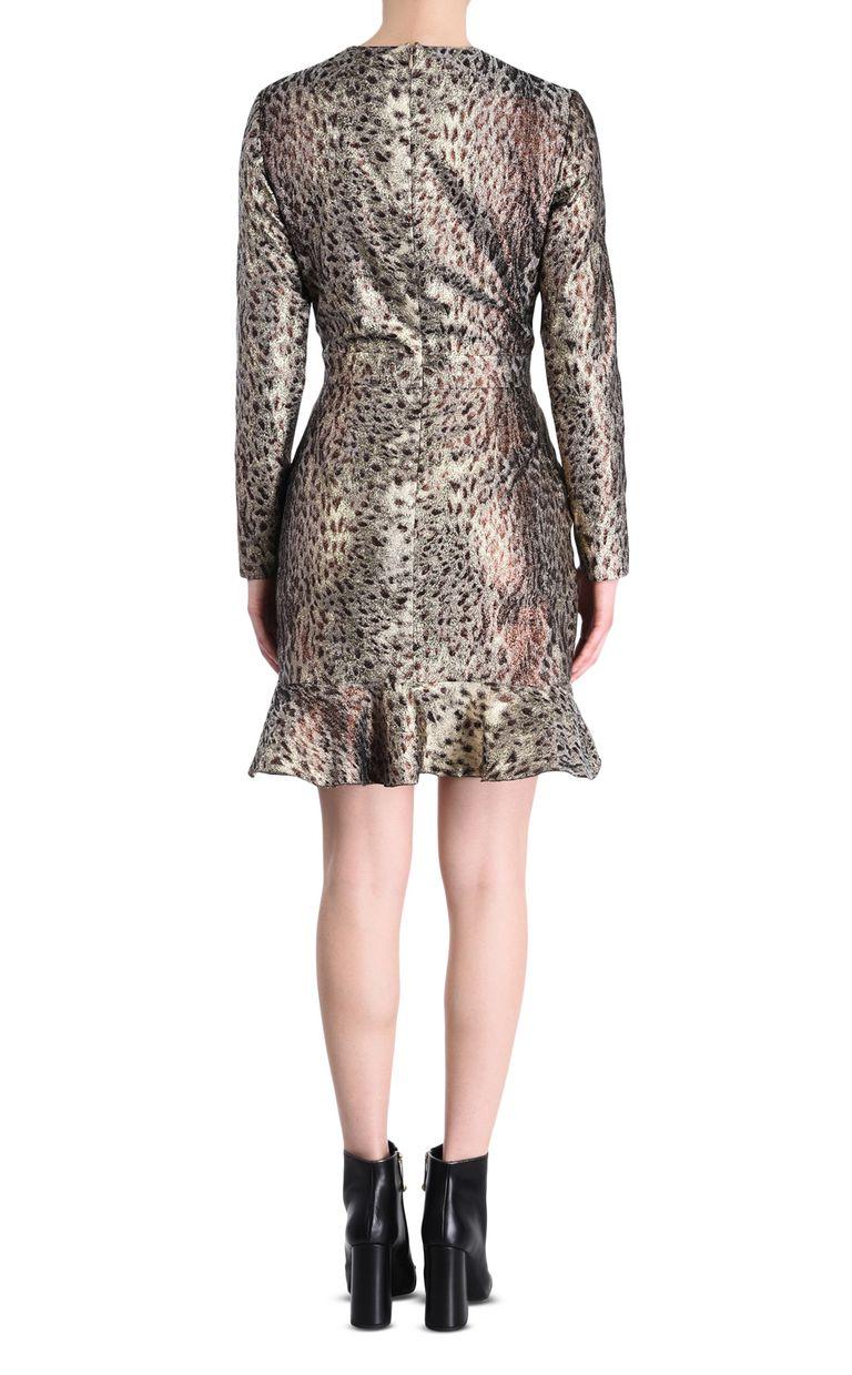 JUST CAVALLI Animal-print mini dress Short dress Woman d