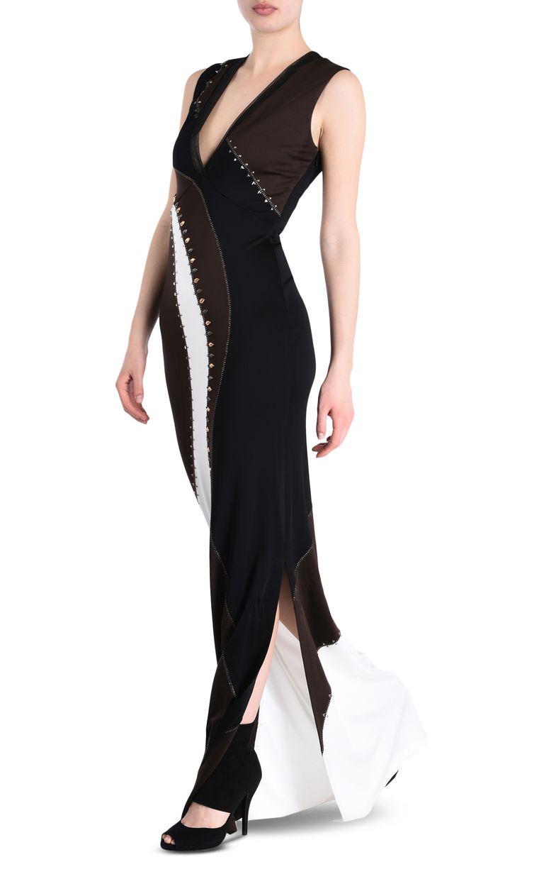 JUST CAVALLI Compact jersey maxi dress Long dress [*** pickupInStoreShipping_info ***] r