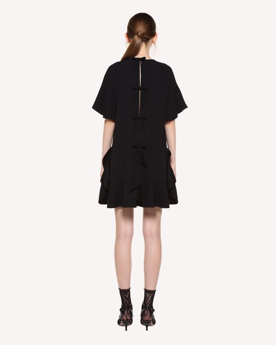 REDValentino Crepe-back satin dress with bow detail
