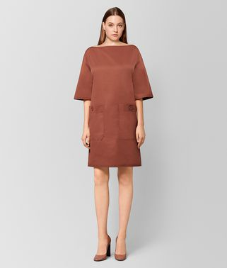 HIBISCUS COTTON DRESS