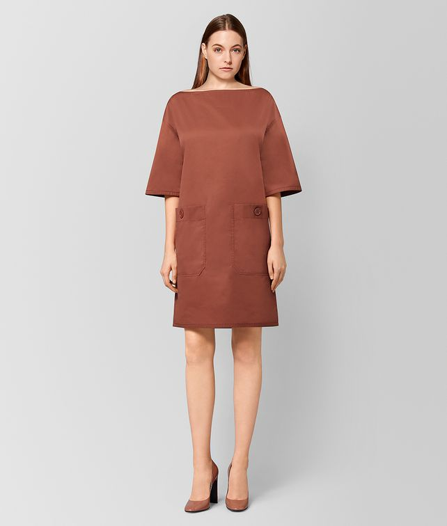 BOTTEGA VENETA HIBISCUS COTTON DRESS  Dress [*** pickupInStoreShipping_info ***] fp