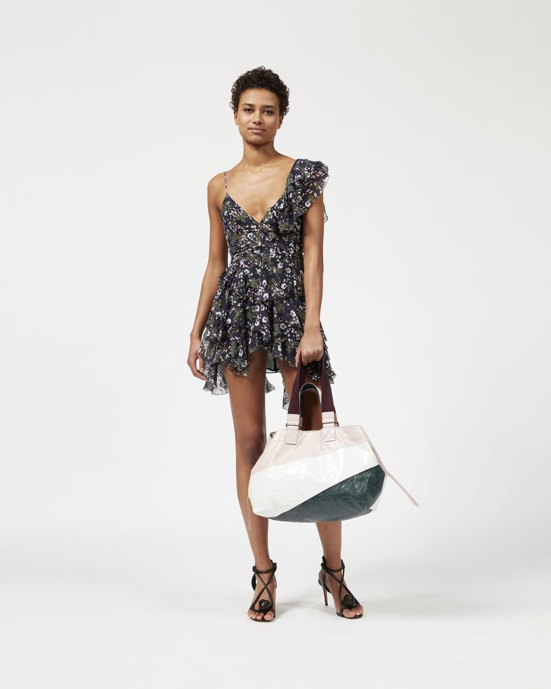 MANDA dress with straps and ruffles ISABEL MARANT