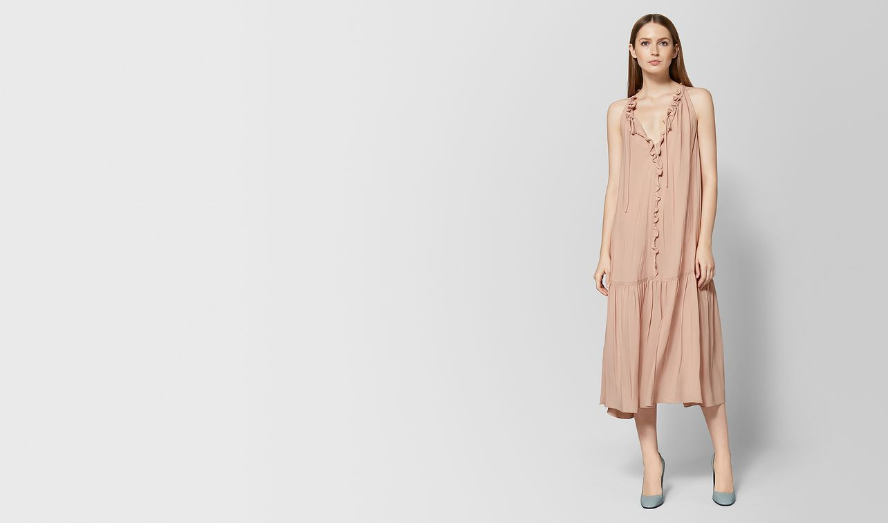 peach rose silk dress landing