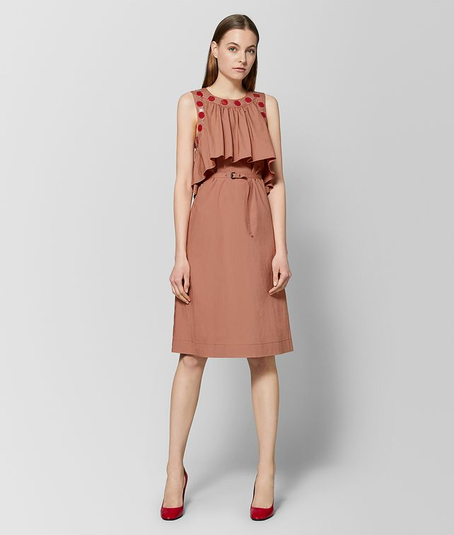 BOTTEGA VENETA DAHLIA COTTON DRESS Dress Woman fp