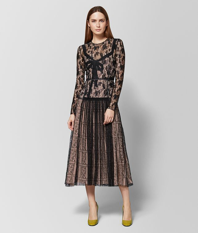 BOTTEGA VENETA MULTICOLOR LACE DRESS Dress [*** pickupInStoreShipping_info ***] fp
