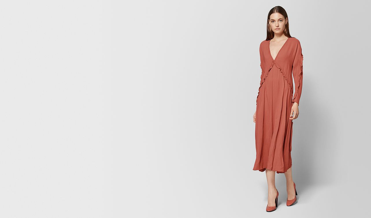 hibiscus silk dress landing