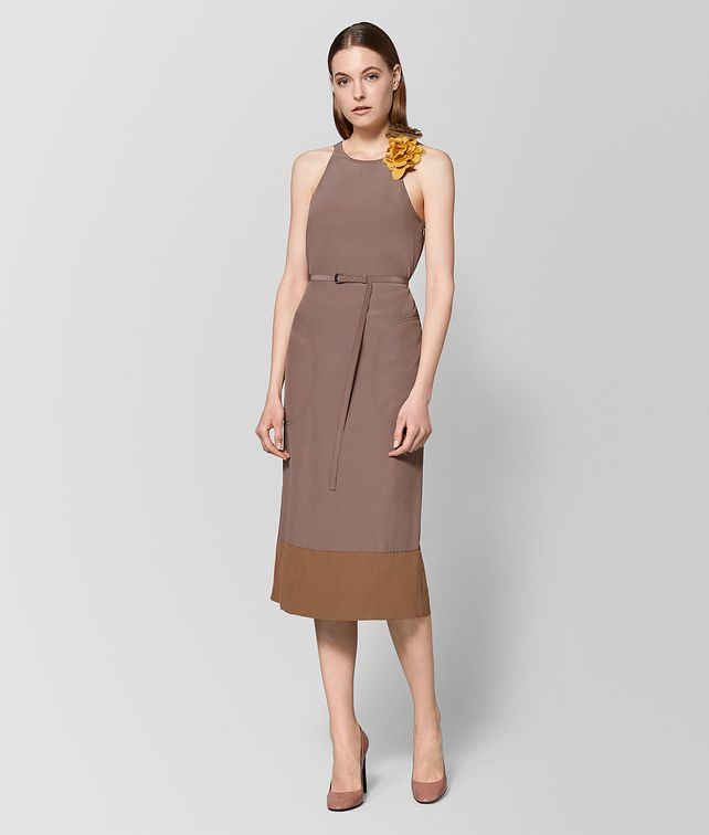 BOTTEGA VENETA DESERT ROSE SILK DRESS Dress Woman fp