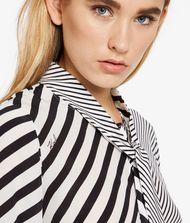 KARL LAGERFELD Hemdblusenkleid mit Streifenmix  9_f