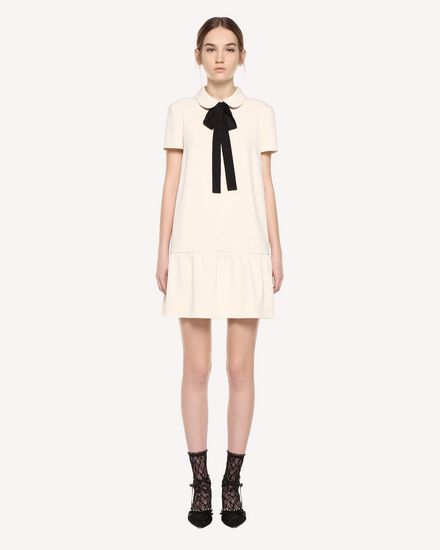 REDValentino Short dress Woman QR3VA7F83TG 0AN f