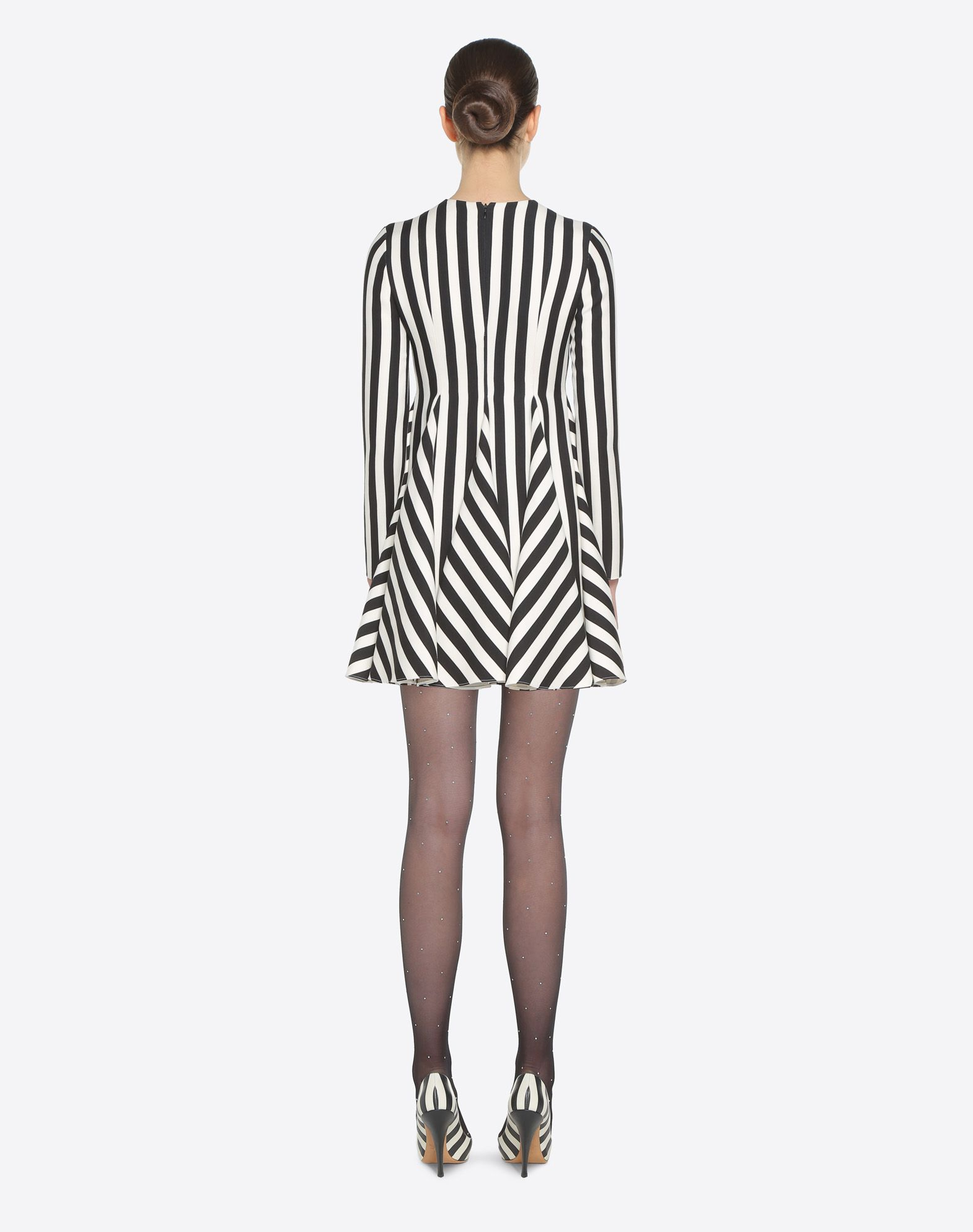 VALENTINO Stripes Re-edition 连衣裙  连衣裙 D e