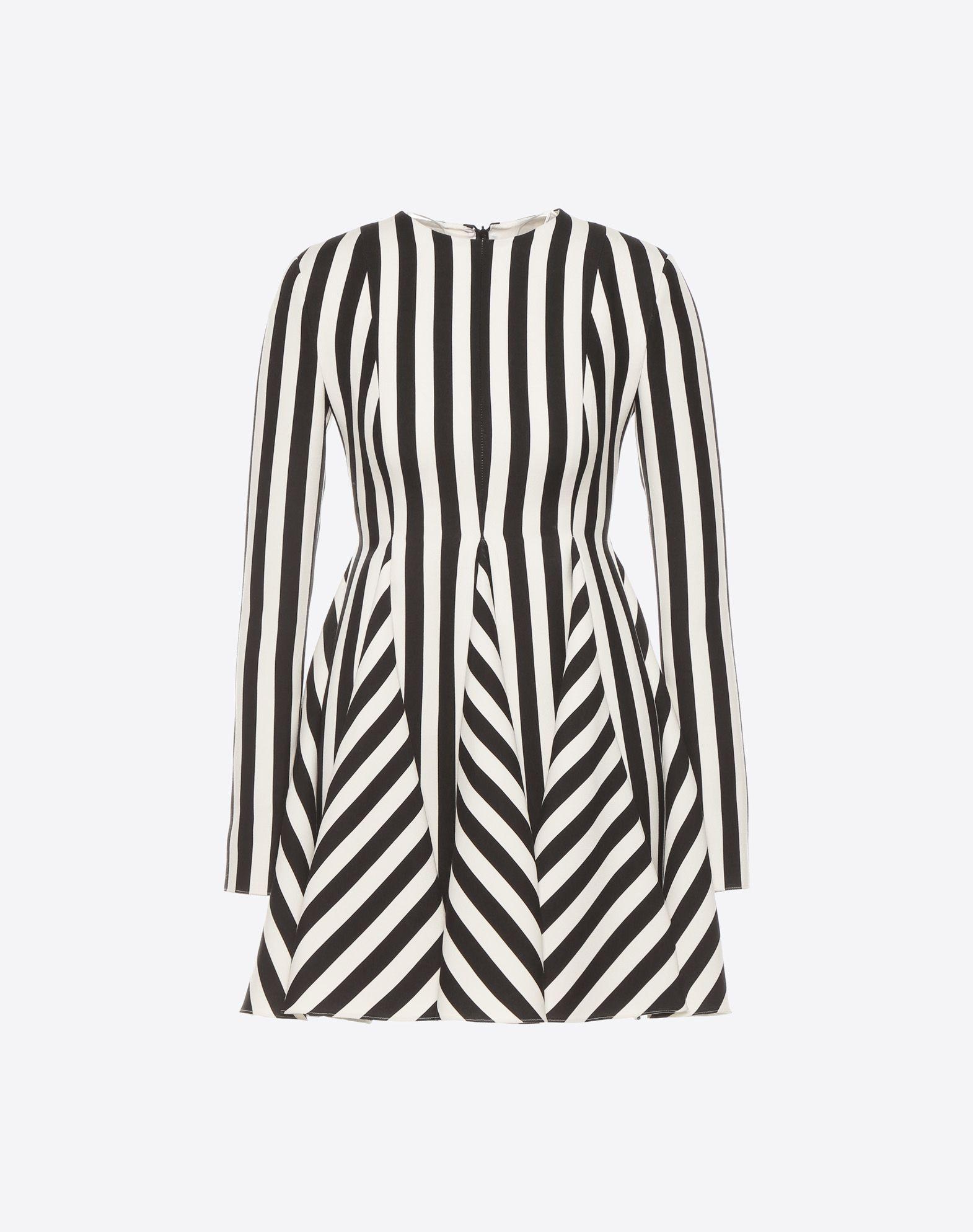 VALENTINO Stripes Re-edition 连衣裙  连衣裙 D f