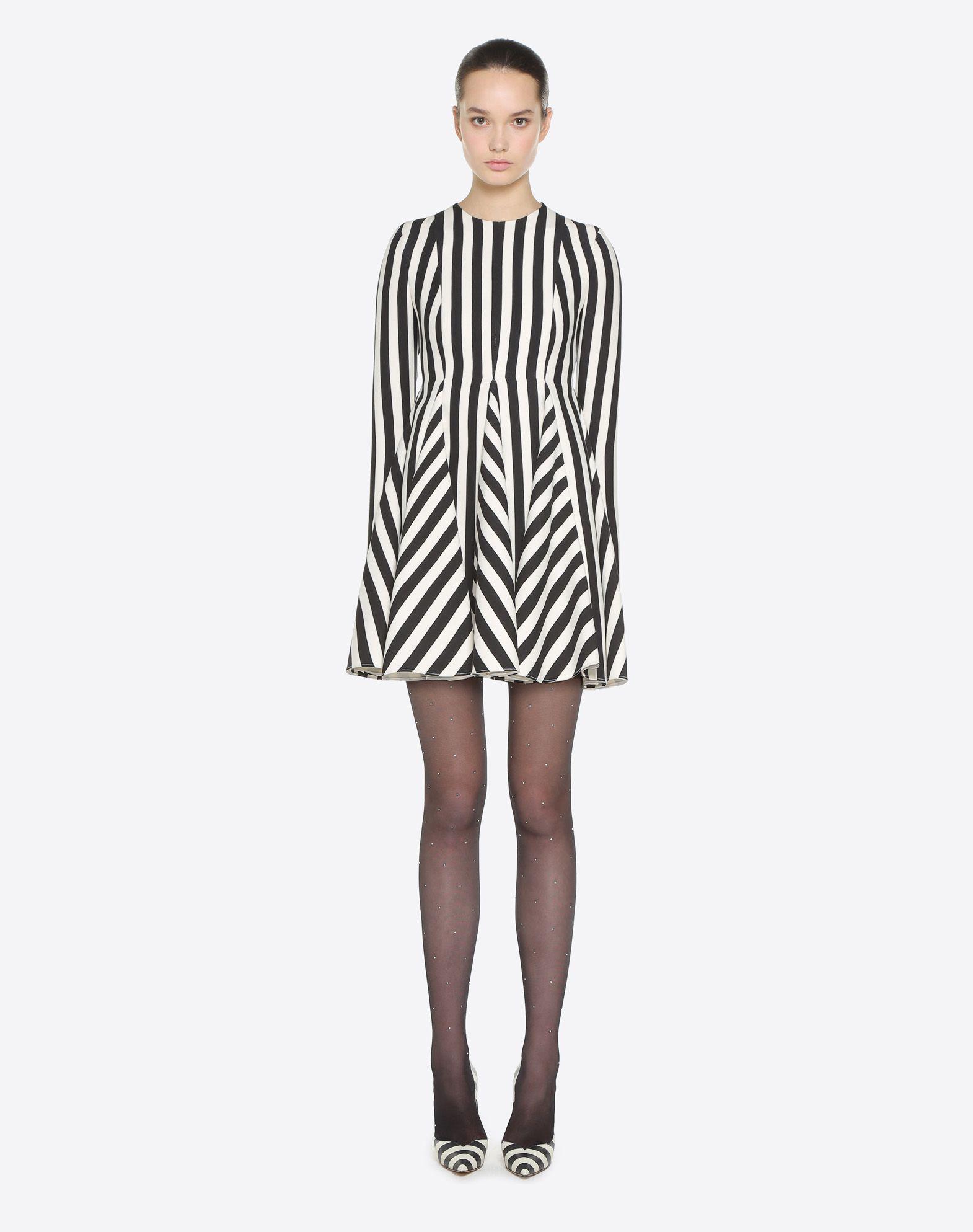 VALENTINO Stripes Re-edition 连衣裙  连衣裙 D r