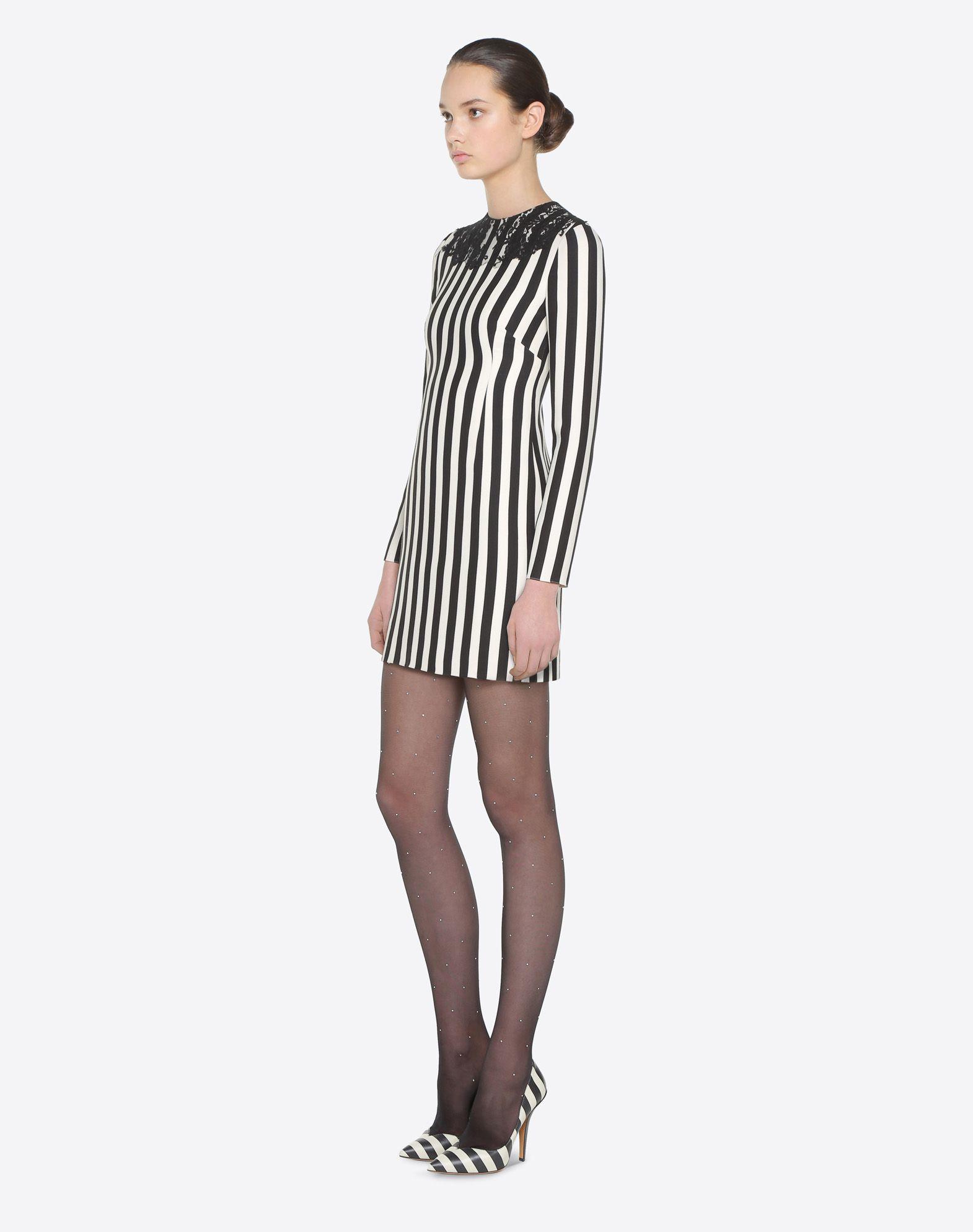 VALENTINO Vestido Stripes Re-edition  Vestido D d