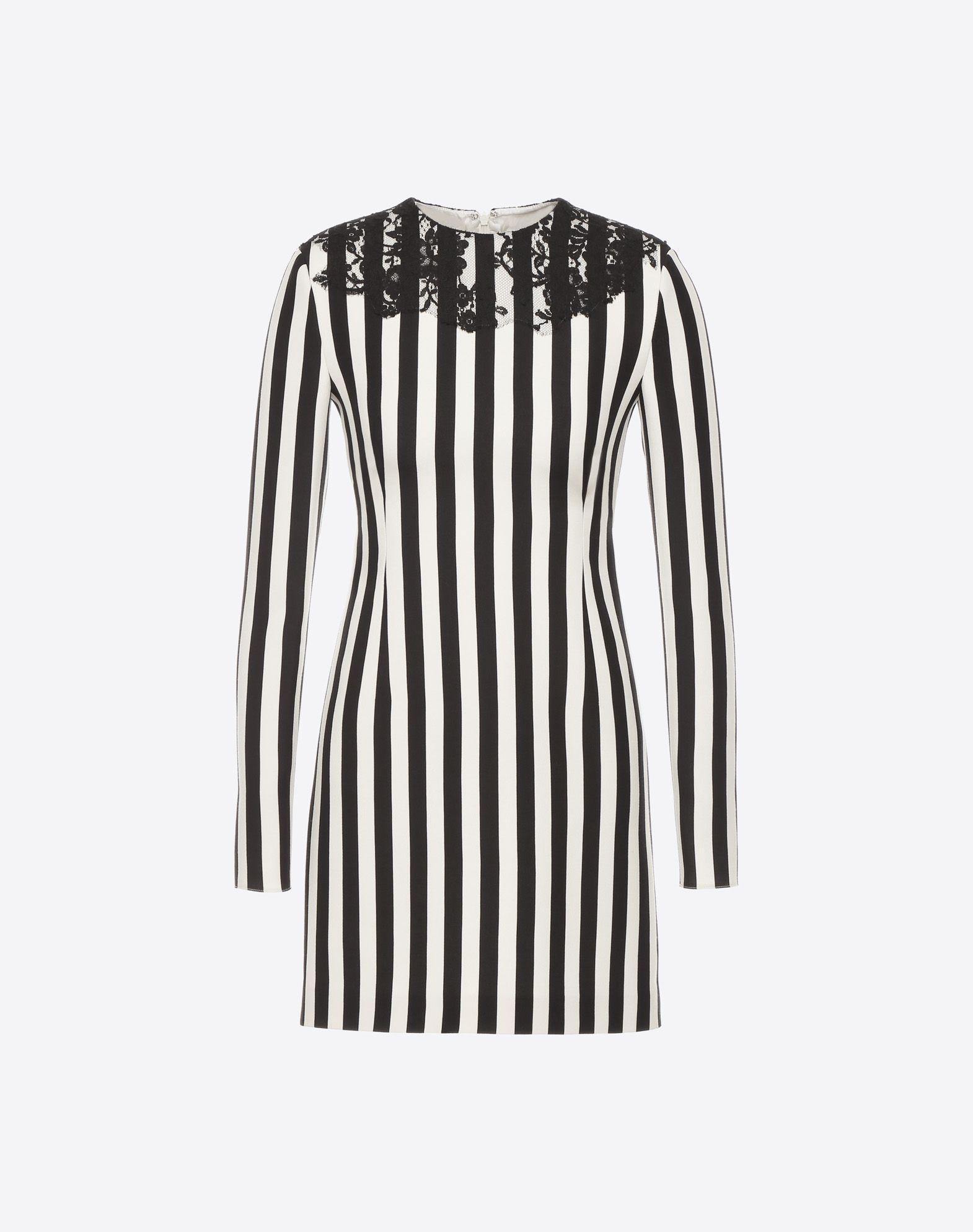 VALENTINO Vestido Stripes Re-edition  Vestido D f