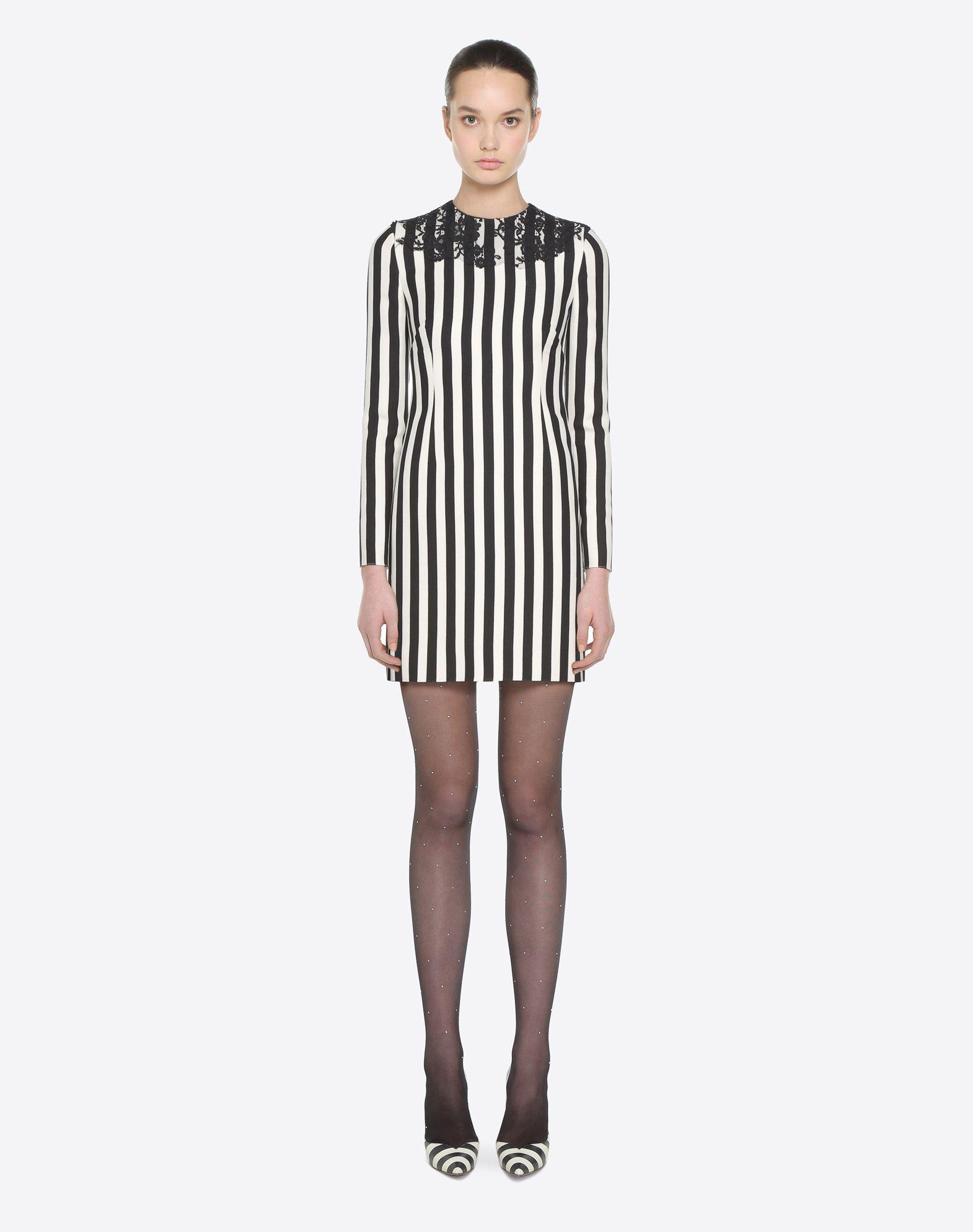 VALENTINO Vestido Stripes Re-edition  Vestido D r