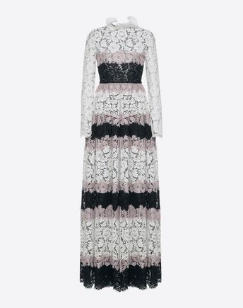 VALENTINO Gown D Intarsia Evening Dress  f
