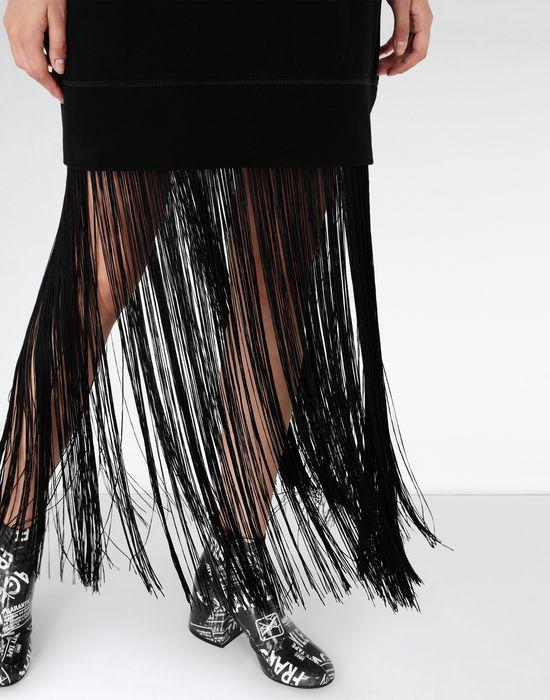 MM6 MAISON MARGIELA Jumper dress with fringes Long dress [*** pickupInStoreShipping_info ***] a