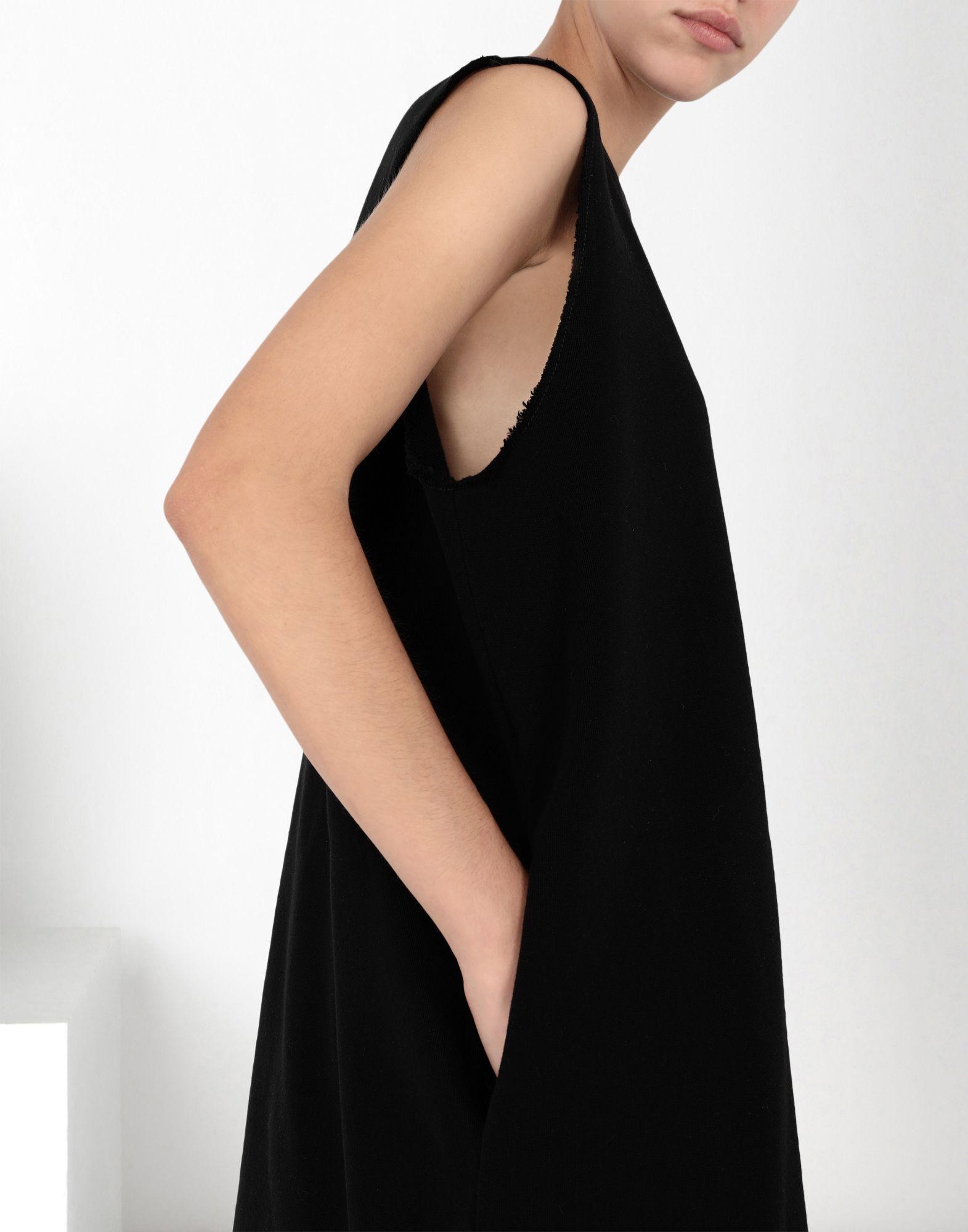MM6 MAISON MARGIELA Jumper dress with fringes Long dress Woman e