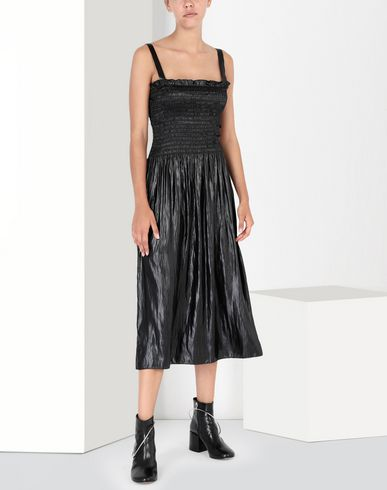 MM6 MAISON MARGIELA 3/4 length dress Woman Fluid satin dress f