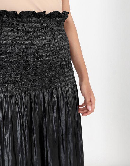 MM6 MAISON MARGIELA Fluid satin dress 3/4 length dress [*** pickupInStoreShipping_info ***] a