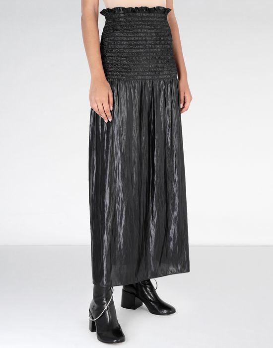MM6 MAISON MARGIELA Fluid satin dress 3/4 length dress [*** pickupInStoreShipping_info ***] e