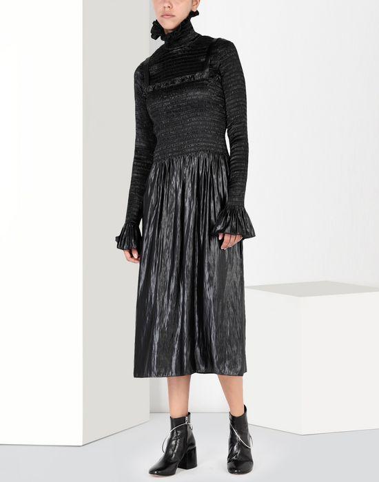 MM6 MAISON MARGIELA Fluid satin dress 3/4 length dress [*** pickupInStoreShipping_info ***] r