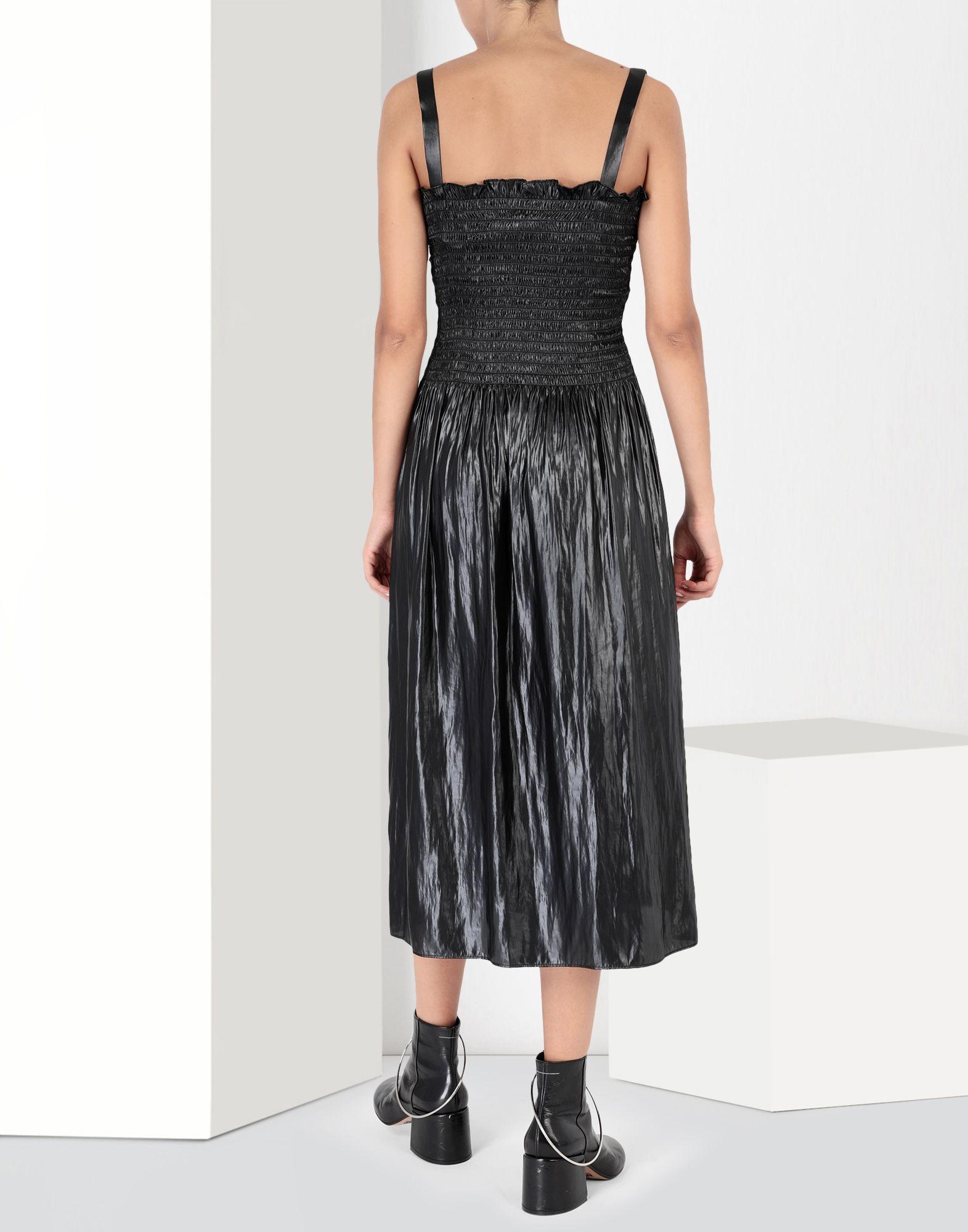 MM6 MAISON MARGIELA Fluid satin dress 3/4 length dress Woman d