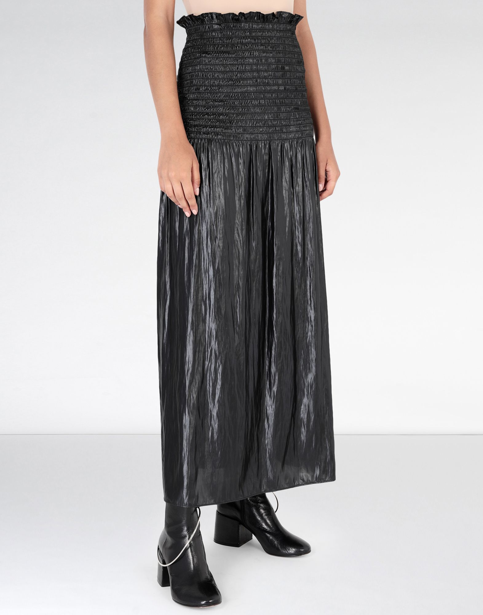 MM6 MAISON MARGIELA Fluid satin dress 3/4 length dress Woman e