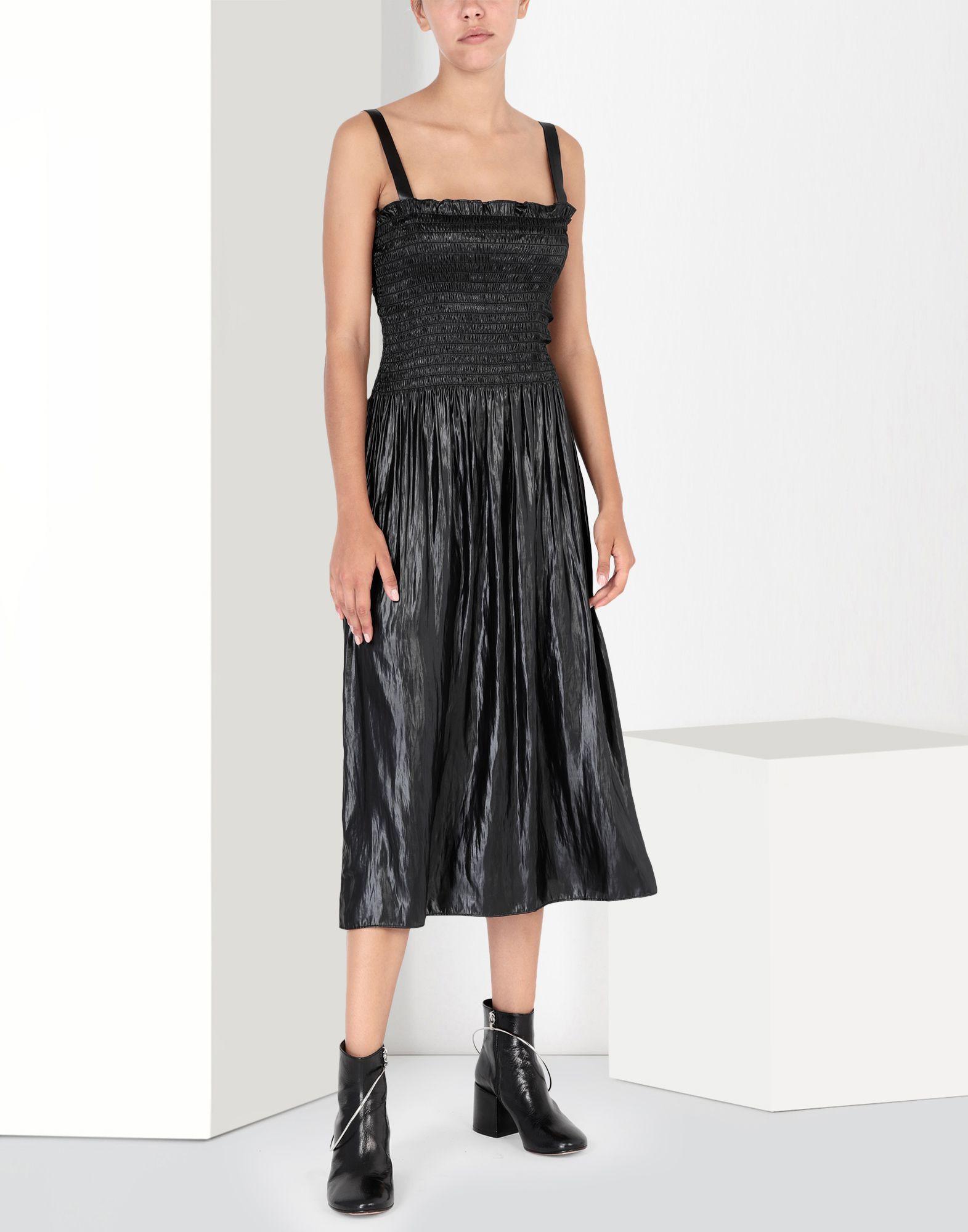 MM6 MAISON MARGIELA Fluid satin dress 3/4 length dress Woman f