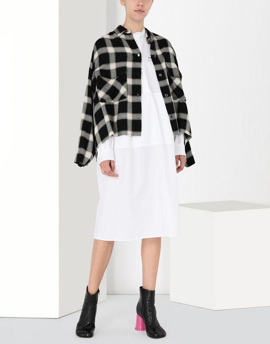 MM6 MAISON MARGIELA Long poplin shirtdress 3/4 length dress [*** pickupInStoreShipping_info ***] r