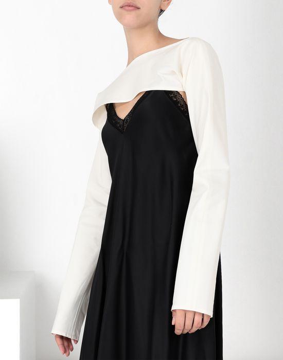 MM6 MAISON MARGIELA Lace trimmed slip dress Long dress [*** pickupInStoreShipping_info ***] a