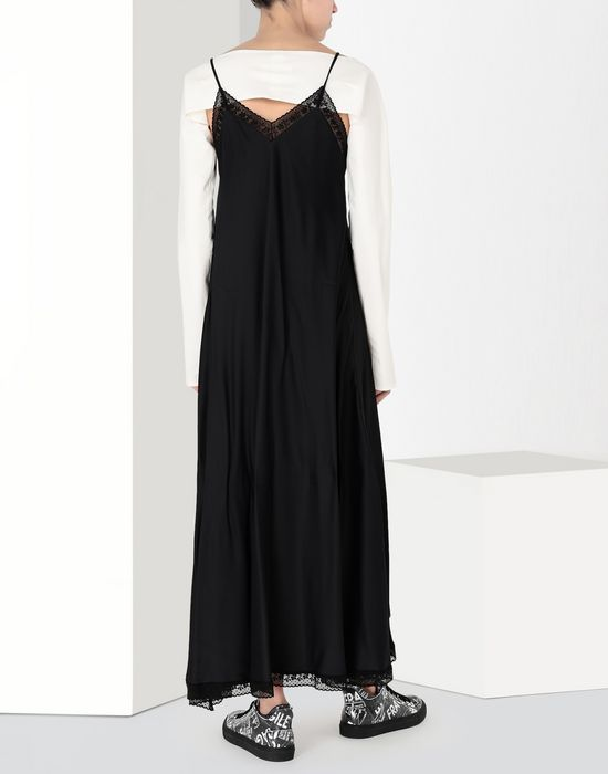 MM6 MAISON MARGIELA Lace trimmed slip dress Long dress [*** pickupInStoreShipping_info ***] d