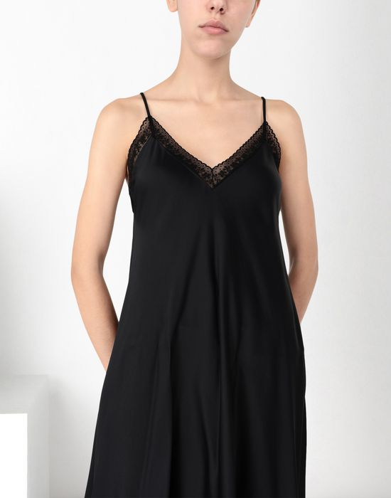 MM6 MAISON MARGIELA Lace trimmed slip dress Long dress [*** pickupInStoreShipping_info ***] e