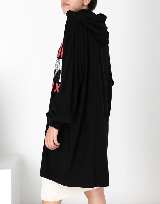 MM6 MAISON MARGIELA Printed sweatshirt dress Short dress [*** pickupInStoreShipping_info ***] a