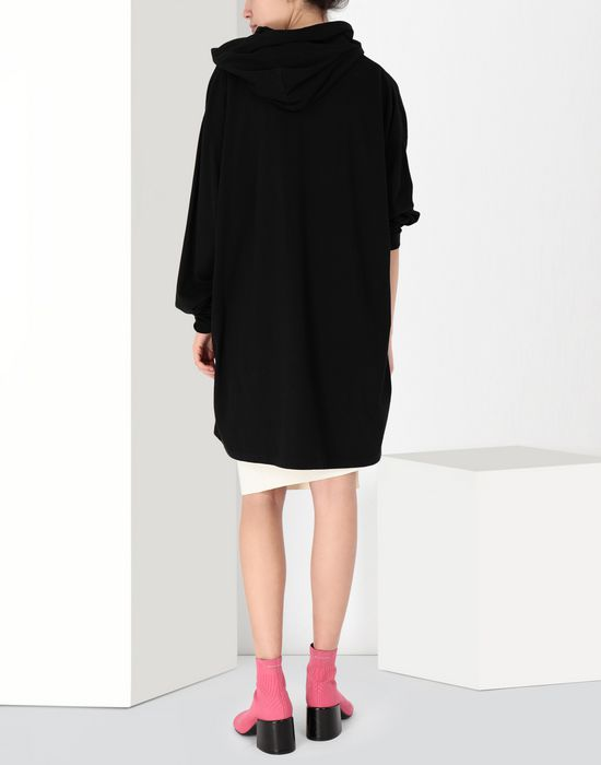 MM6 MAISON MARGIELA Printed sweatshirt dress Short dress [*** pickupInStoreShipping_info ***] d