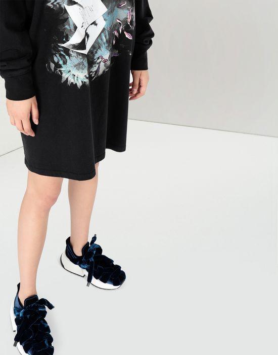 MM6 MAISON MARGIELA Print hoodie jersey dress Short dress [*** pickupInStoreShipping_info ***] a